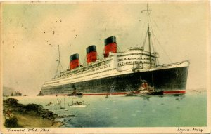 Cunard White Star Line - RMS Queen Mary    *PAQUEBOT