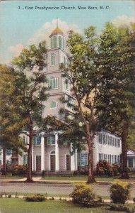 First Presbyterian Church New Bern North Carolina 1948