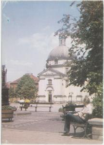 WARSZAWA, WARSAW, POLAND, Rynek Nowego Miasta Na Rynku kosciol Sakramentek