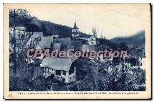 Postcard Old Surroundings St Jean de Maurienne Savoie St Alban Charvet genera...