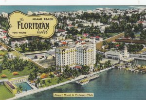 MIAMI BEACH , Florida , 1930-40s ; The Floridian Hotel