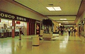 TERRE HAUTE, Indiana IN   HONEY CREEK SHOPPING MALL  Osco Drug ROADSIDE Postcard