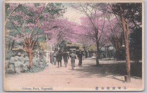Nagasaki, Japan, O-Suwa Park - (Pre WWI)-1916