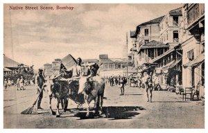 India Bombay ,  Street Scene