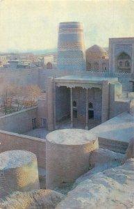 Uzbekistan Khiva Kurinish Khana Kunya Ark  Ichan Kala west gates Kalta Minor
