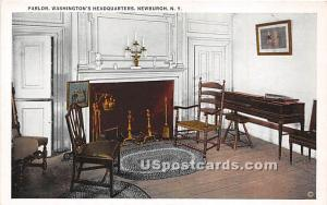 Parlor, Washington's Headquarters Newburgh NY Unused