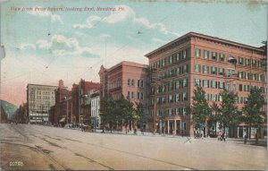 View from Penn Square Looking East, Reading, Pennsylvania Vintage Postcard