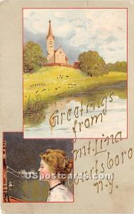 Greetings from Mt Lina Wurtsboro NY 1909