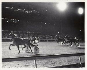 MEADOWLANDS Harness Horse Race , GOYO winner, 1976