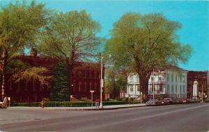 Genesee County Building Batavia New York NY Court House Upton Monument Postcard