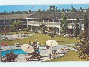 Pre-1980 MOTEL SCENE Fresno California CA AE1022