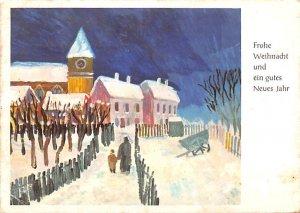 Frohe Wihnacht und ein gutes Nueues Jahr Germany 1966