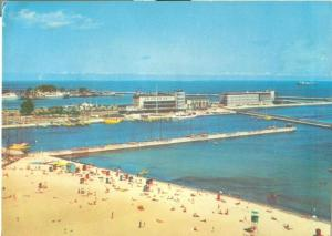 Poland, Gdynia Seaside, 1977 used Postcard
