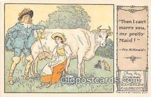 Milkmaid Randolph Caldecott's Pictures Unused