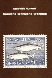 Kalaallit Nunaat, GREENLAND, Fish 50 KR Stamp, 1983