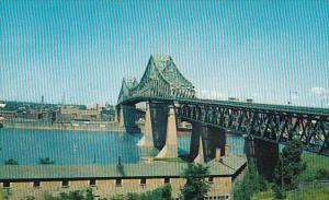 The Jacques-Cartier Bridge , MONTREAL  , Quebec , Canada  , PU-1970