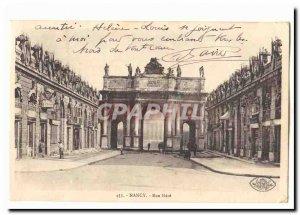 Nancy Old Postcard Street Here