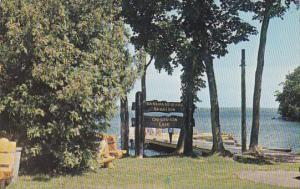 Pentoga Park On Chicaugon Lake Near Iron River and Crystal Falls Michigan