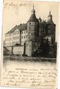 CPA MONTBÉLIARD - Le Chateau (183033)