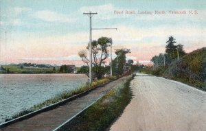17085 Trolley on Pond Road, Looking North, Yarmouth, Nova Scotia