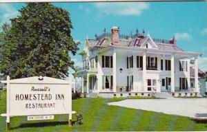 Ohio Milan Russell's Homestead Inn Restaurant