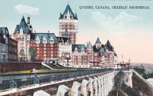 Scenic view, Chateau Frontenac,Quebec, Canada,00-10s