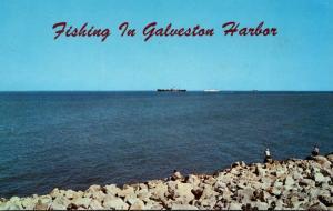 Fishing In Galveston Harbor Texas