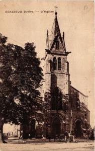 CPA AK JONZIEUX - L'Église (581126)