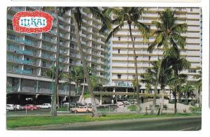 Ilikai Hotel Honolulu Hawaii Waikiki Yacht Harbor Mike Roberts 1970 Postcard