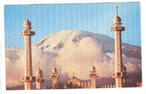 Mount Kilimanjaro With Mosque In Foreground, Tanzania, Africa, 1940-1960s