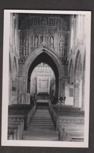 Interior Of Unidentified Church - Real Photo - Unused