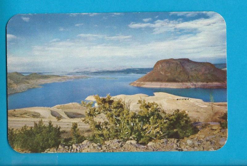 Postcard Elephant Butte Lake Near Hot Springs  New Mexico  # 486