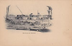 EGYPT, 1900-1910's; Environs De Gesireh