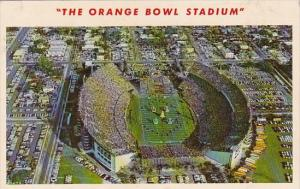 Florida Miami Home Of The Orange Bowl Classic