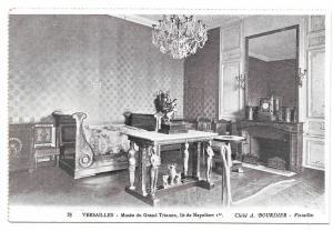 France Versailles Bed of Napoleon Vtg Bourdier Postcard