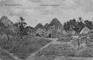 German East Africa Tanzania, Deutsch-Ost-Afrika, Dorf Korogwe in Usambara