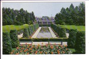 Sunken Garden, McMaster University, Hamilton Ontario,