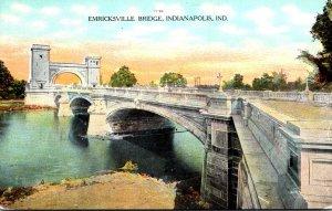 Indiana Indianapolis The Emricksville Bridge