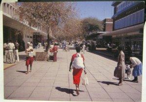 Botswana Gaborone The Mall - posted