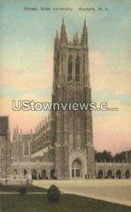 Chapel, Duke University in Durham, North Carolina