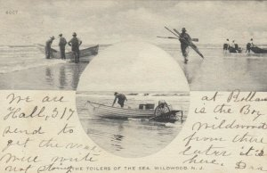 WILDWOOD , New Jersey , 1906 ; Fishermen