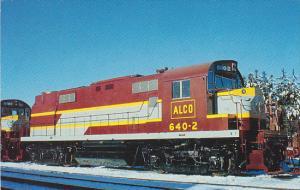 American Locomotive Company Locomotive No 640-2 ALCO RS-27