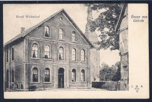 Hotel Wehmhof Gehrde Osnabruck Germany unused c1905