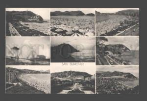 089160 SPAIN San Sebastian Vintage collage PC