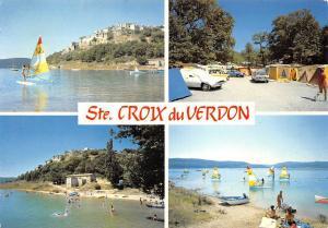 France Ste Croix du Verdon, La Plage Le Camping Les Planches a Voiles