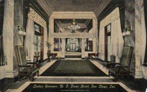 SAN DIEGO , California , PU-1914 ; Ladies Entrance , U.S. Grant Hotel