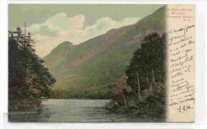 Profile Lake & Mountain, Franconia Notch, New Hampshire, PU-1907