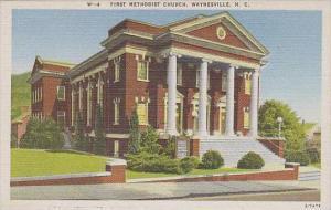 North Carolina Waynesville First Methodist Church