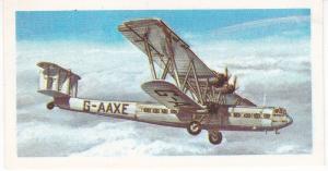 Trade Card Brooke Bond Tea History of Aviation black back reprint No 17 Handley