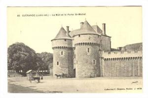 Guerande, France, 00-10s; Le Mail et la Porte St-Michel